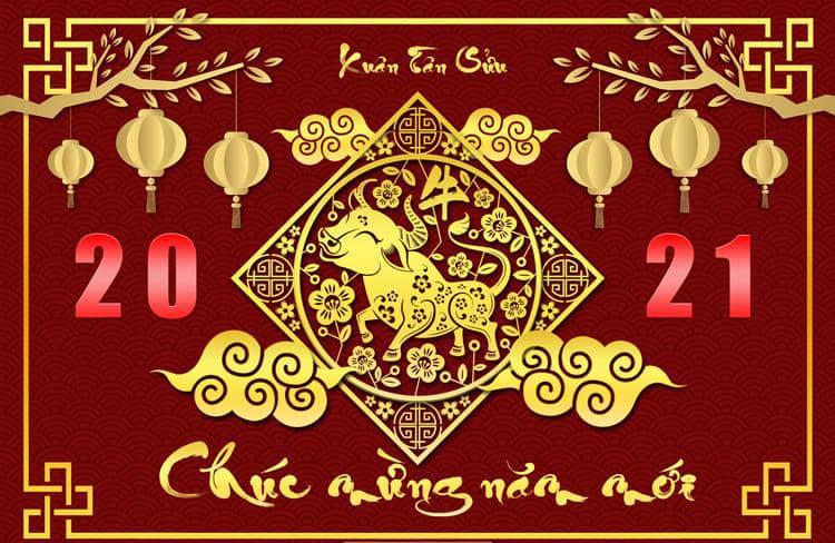 nghỉ tết âm lịch Tân Sửu